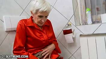 Hairy Granny Gets Fucked A Young Stud
