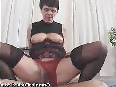 Hairy Pussy Granny Fucked Granny Hardcore Lingerie Mature