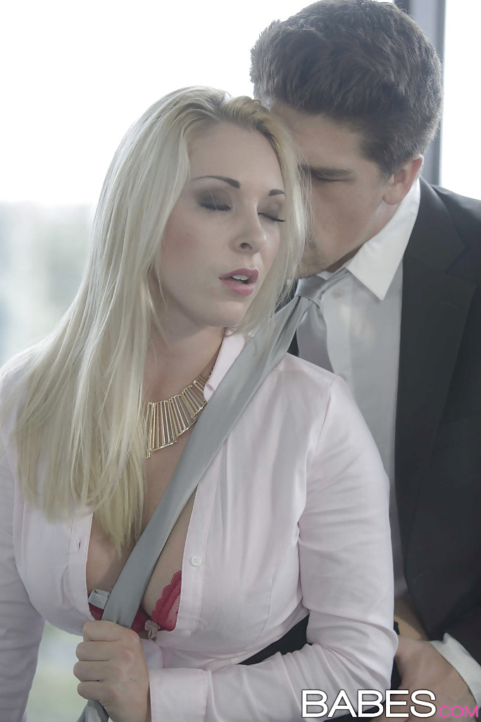Hardcore Office Sex From Big Cock For Busty Euro Blonde Victoria Summer