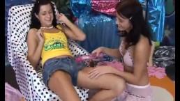 Hd Natural Big Tits Teen Lesbian Hot Magnificent Pals Playing With 1
