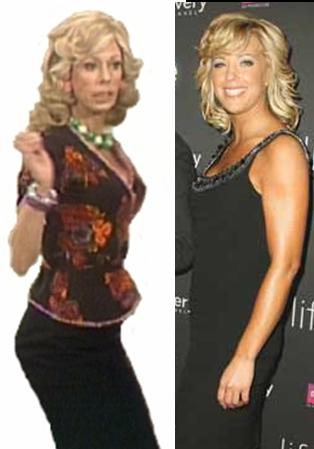 Hey Kate Gosselin Looks Just Like Wiggins