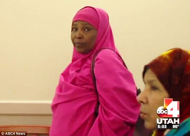 His Mother Zahra Mohammed Pictured In Refused To Believe The Crimes