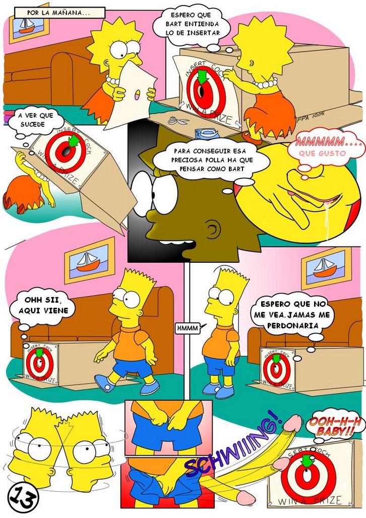Historieta De Lisa Simpson Totalmente Desnuda Comic Porno 5