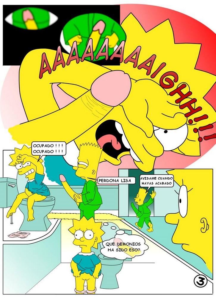 Historieta De Lisa Simpson Totalmente Desnuda Comic Porno 8
