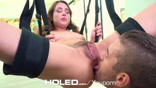 Holed Taylor Sands Asshole Fucked On The Sex Swing 2