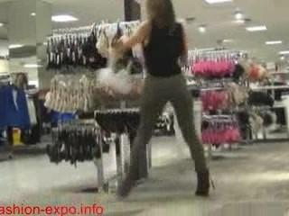Horny Mom Fucks And Sucks Sons Big Cock In Public Clothes Shop
