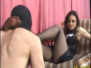 Italian Mistress Foot Worship