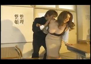 Japanese Big Tit Milf Teacher