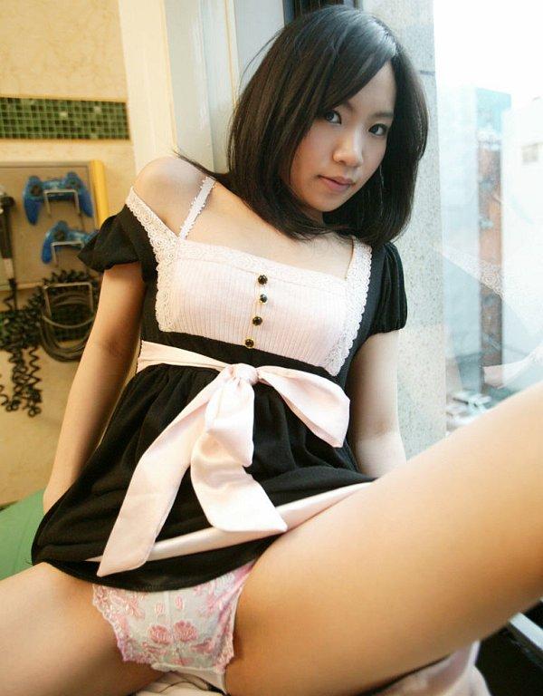 Japanese Spreading Legs Porn Asian Cute Teen Maid Asian Teen Maid Mio Sexy Asian
