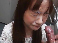 Japanese Unwanted Dislike Blowjob And Cum Facial Asian Blowjob Cumshot Facial Japanese
