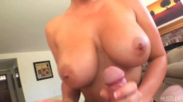 Jayden James Gives Amazing Pov Titty Fuck With Those Big Tits