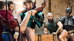 Justice League A Gay Parody Part Gay Porn Video On Men 3