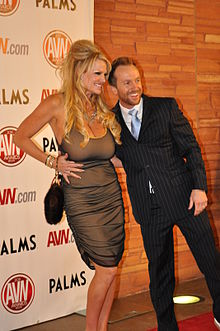 Kelly With Her Husband Ryan Madison At The Avn Awards
