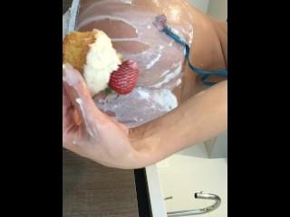 Lana Rhoades Anal Food Play 4