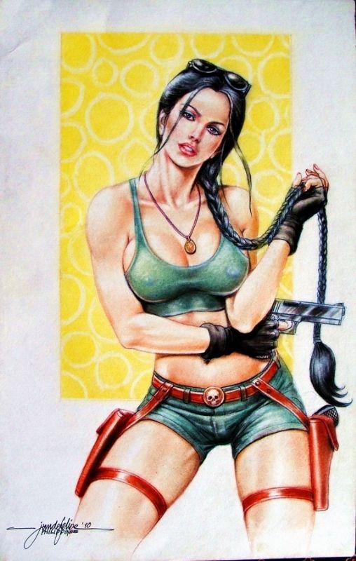 Lara Croft Tomb Raider Jun De Felipe Pinterest