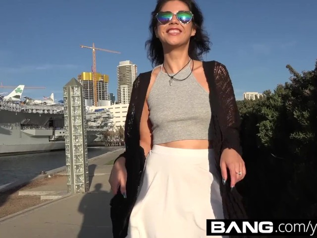 Latina Teen Amateur Penelope Reed Takes Her Pussy On A City Tour