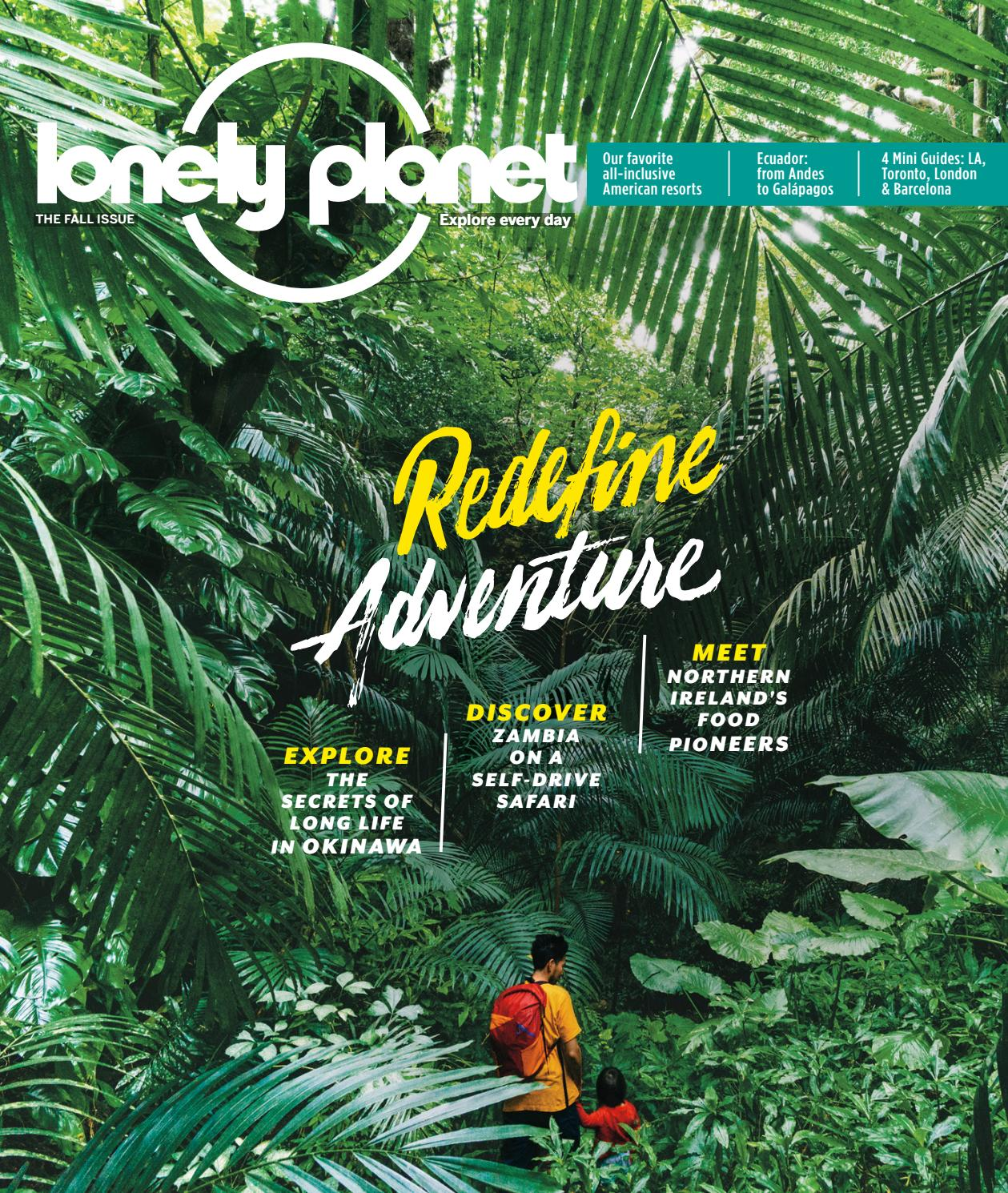 Lonely Planet Magazine Us Fall Sample