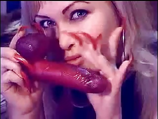 Long Red Nails Porn Tube Video