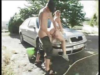 Mandy May Big Tit Car Wash Tmb