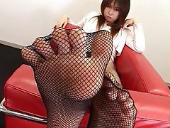 Marika Foot Fetish Asian Foot Fetish Japanese Stockings