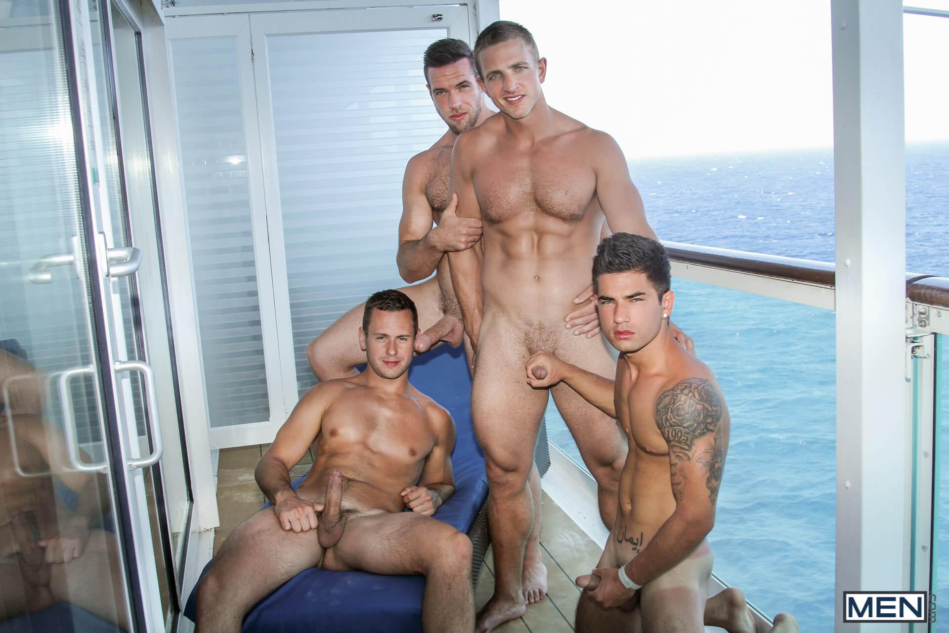 Men Jizz Orgy Men At Sea Part Alex Mecum Brenner Bolton Landon Mycles Vadim Black Gay Porn Blog Image