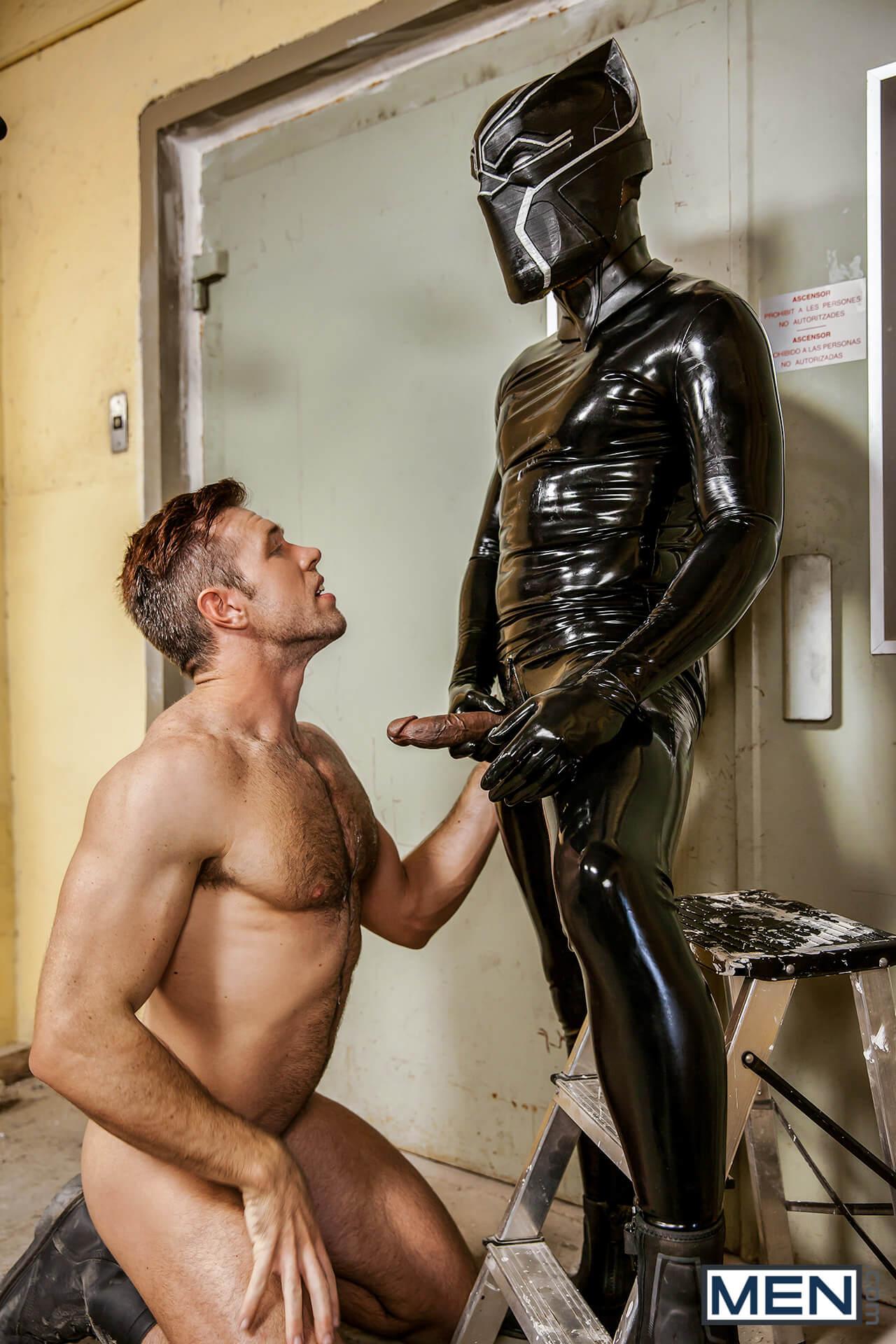 Men Super Gay Hero Captain America A Gay Parody Part Alex Mecum Black Panther Gay Porn Blog Image 3