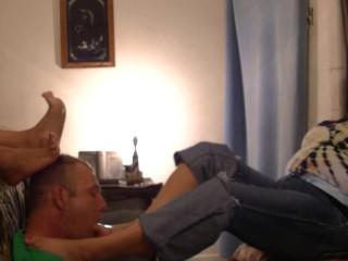 Mexican Mature Foot Worship 1
