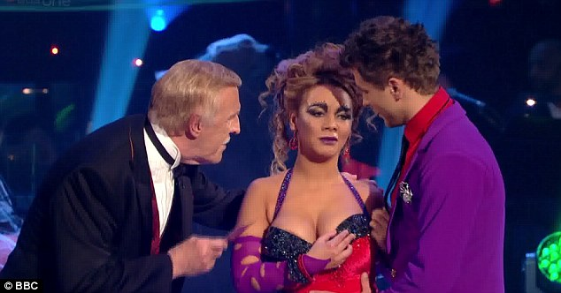 Misunderstood Host Bruce Forsyth Thought That Chelsee Was Upset With Her Routine And Didn
