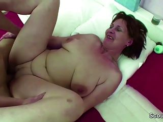 Mom Caught Step Son Jerk And Helps Him With Hardcore Fuck Tmb