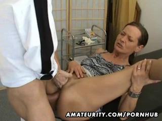 Mrs White Mature Anal Sex Hot Porno 1
