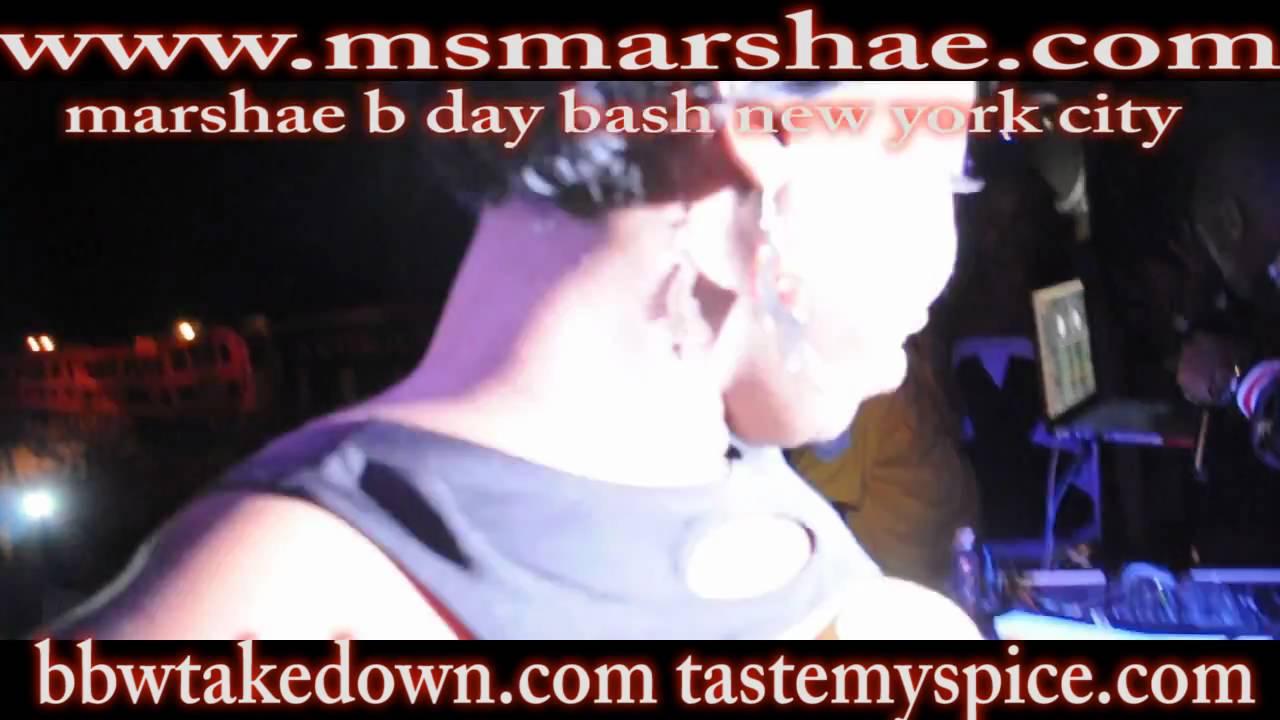 Ms Marshae Day Bash New York City Youtube