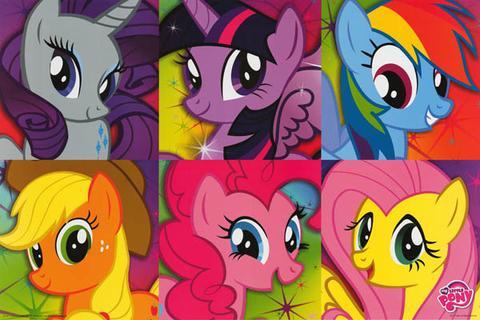 My Little Pony Cartoon Poster 1
