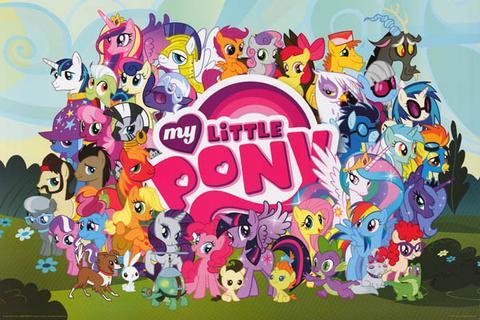 My Little Pony Cartoon Poster 2