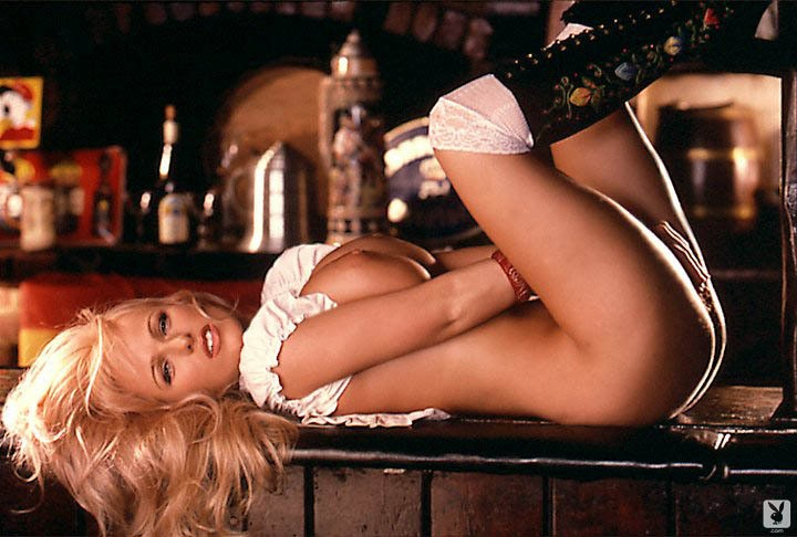 Nadine Chanz Strips Her German Waitress Uniform To Show Her Nice Body 2