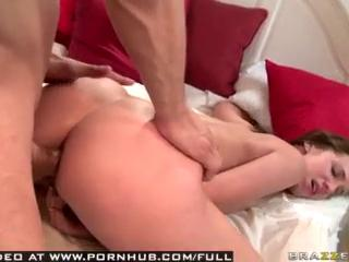 Natural Tit Brunette Teen Fucks Her Friends Brother Anally