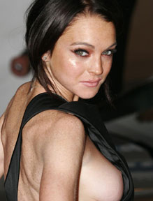 Nude Lindsay Lohan Nude Super Woman