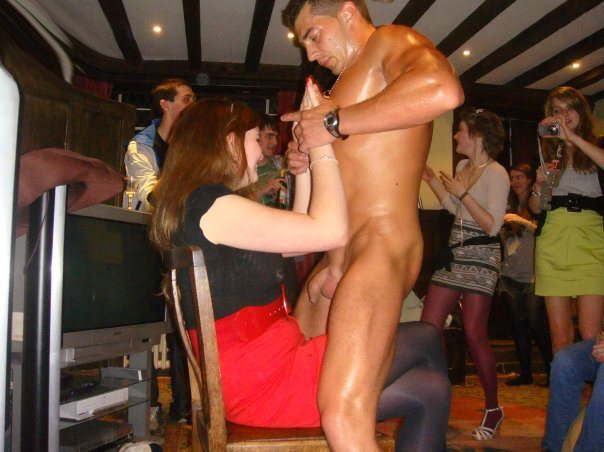 Real Male Stripper Party