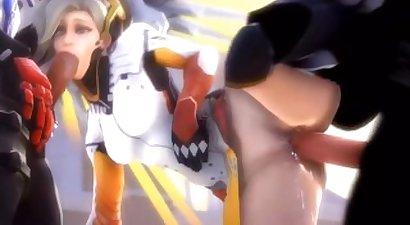 Overwatch Cock Hero Part Handclap
