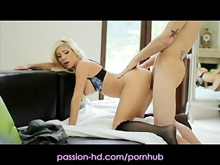 Passion Cheating Housewife Dressed For Pleasure