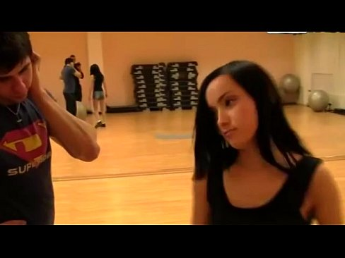 Petite Ballet Euro Amateur Takes Cash For Threesome