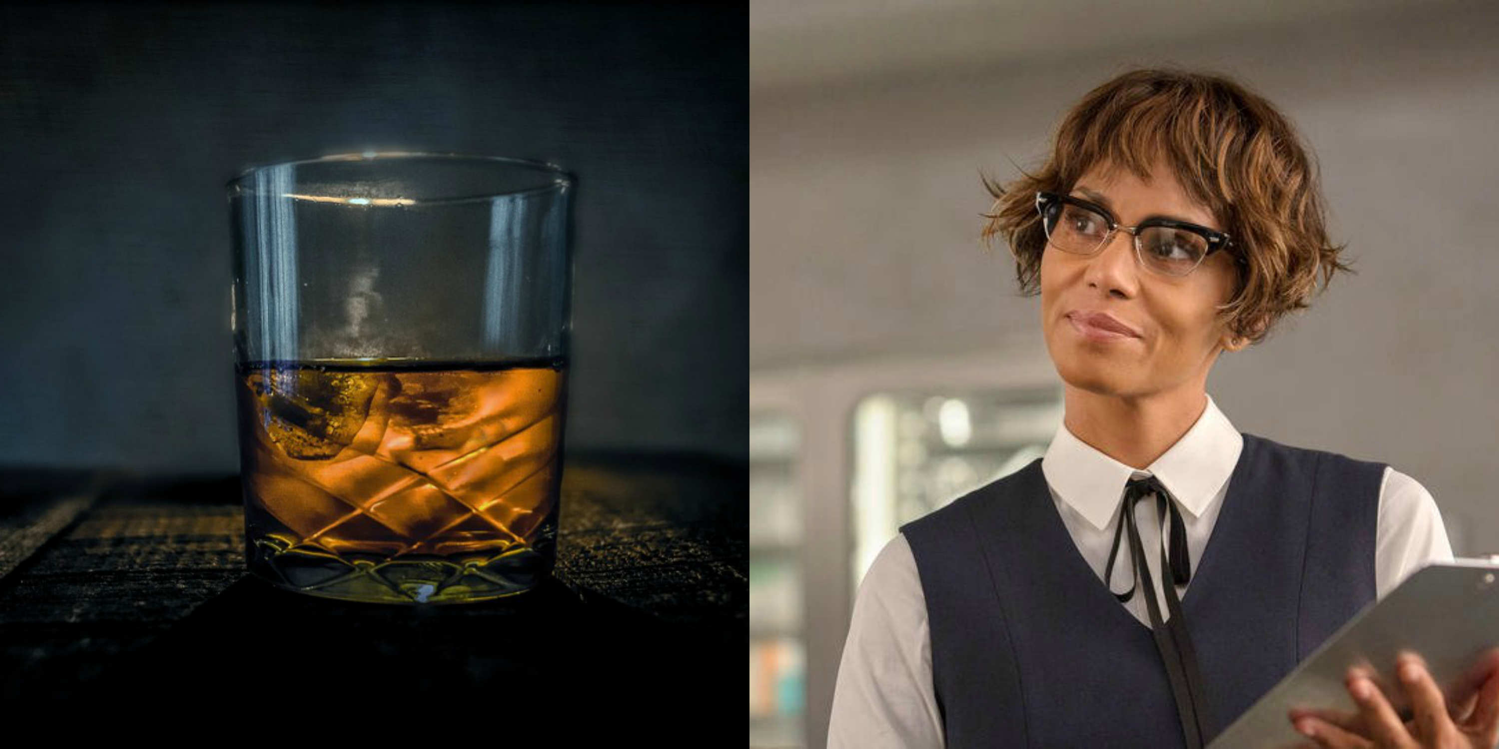 Pics Jessica Alba Naked Halle Berry Pounds Pint Of Whiskey At Kingsman Comic Con Panel
