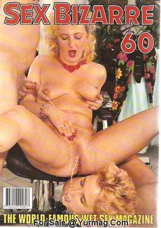 Porn Magazine Color Vintage Wet Sex Porn Magazine Sex Bizarre Color Climax
