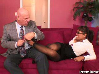 Premium Busty Secretary Jasmine Byrne Entices Boss With Her Sexy Feet 2