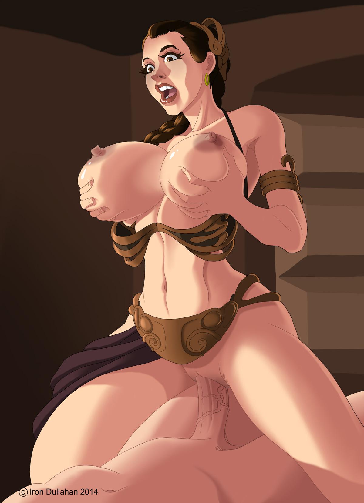 Princess Leia Iron Dullahan Hentai Foundry