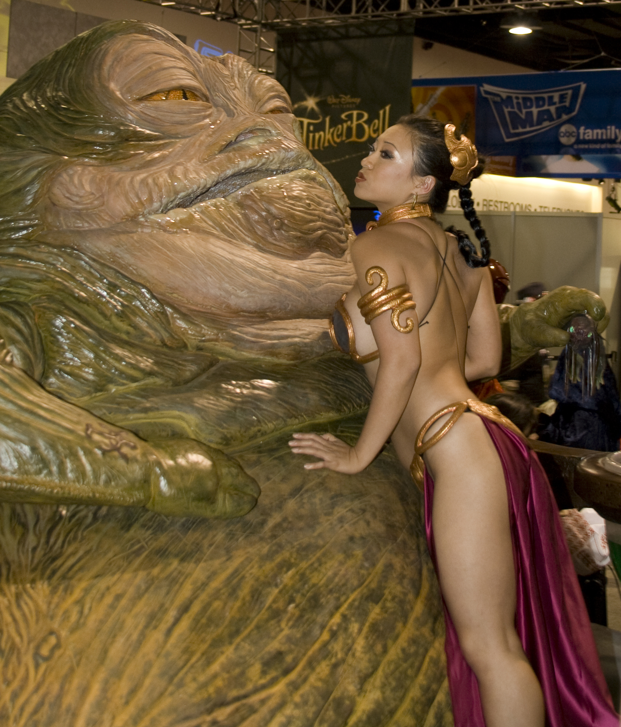 Princess Leia Slave Bikini Star Wars Carrie Fisher