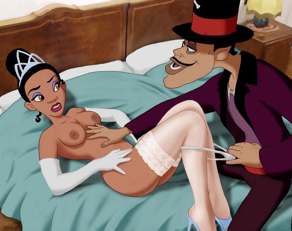 Princess Tiana Porn Where Facilier Bangs Tiana Disney Porn 1