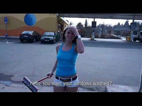 Public Sex At The Car Wash 1