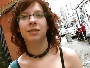 Puta Locura Busty Redhead Teen Nerd Picked Up And Fucked