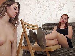 Russian Mistress Femdom Foot Fetish Lesbian Russian