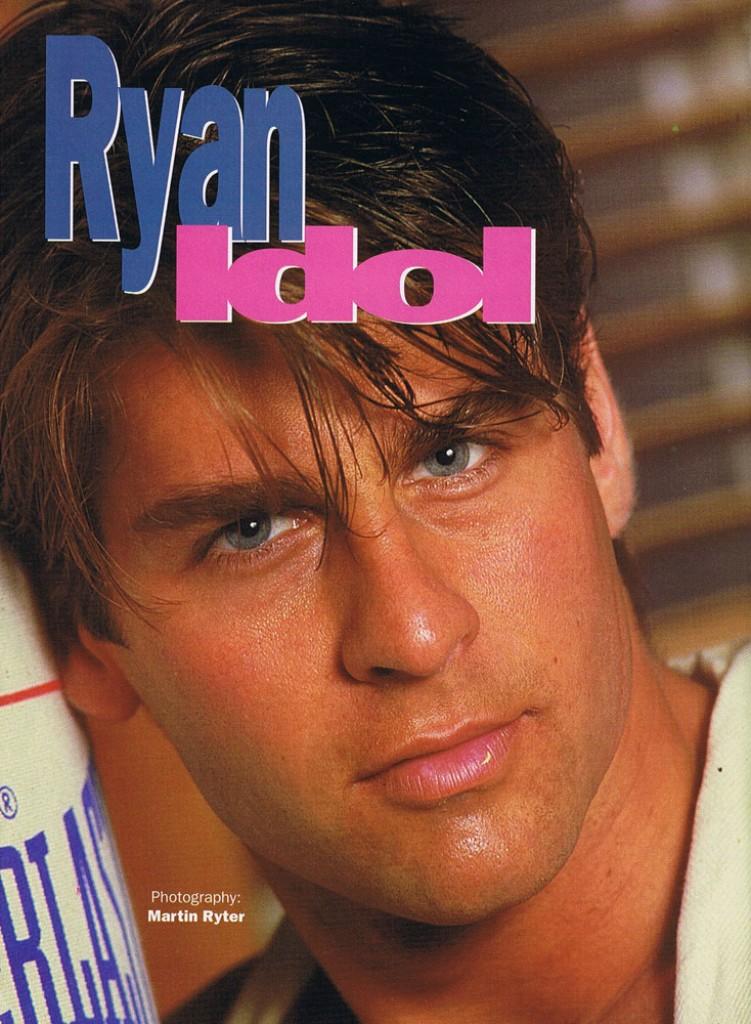 Ryan Idol Centerfold Excellent Top Gay Porn Blog 1